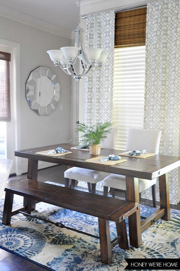 Roman Shades To Make Window Look Taller Bamboo Shades Home Decor Decor