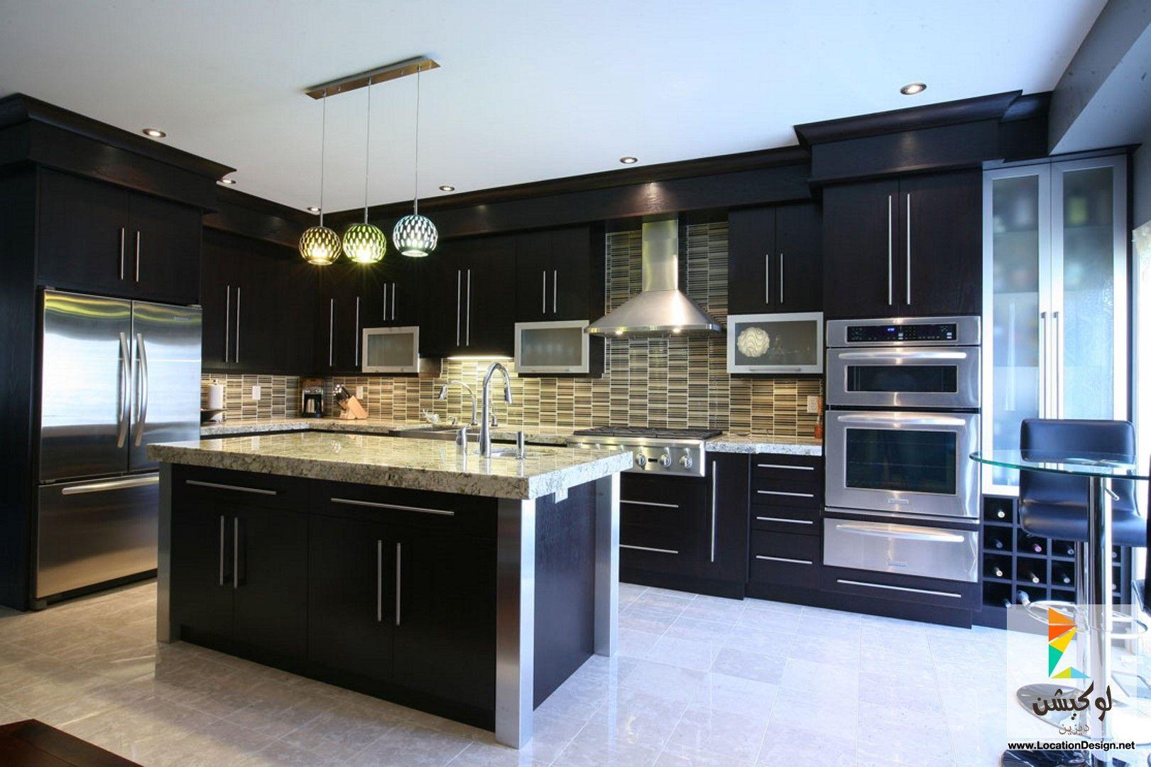 أفخم تصاميم مطابخ ايطالي مودرن لوكيشن ديزاين تصميمات ديكورات أفكار جديدة Kitchen Inspiration Design Contemporary Kitchen Design Kitchen Designs Layout