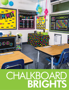 Chalkboard Brights Classroom Decorations Ms Driscolls