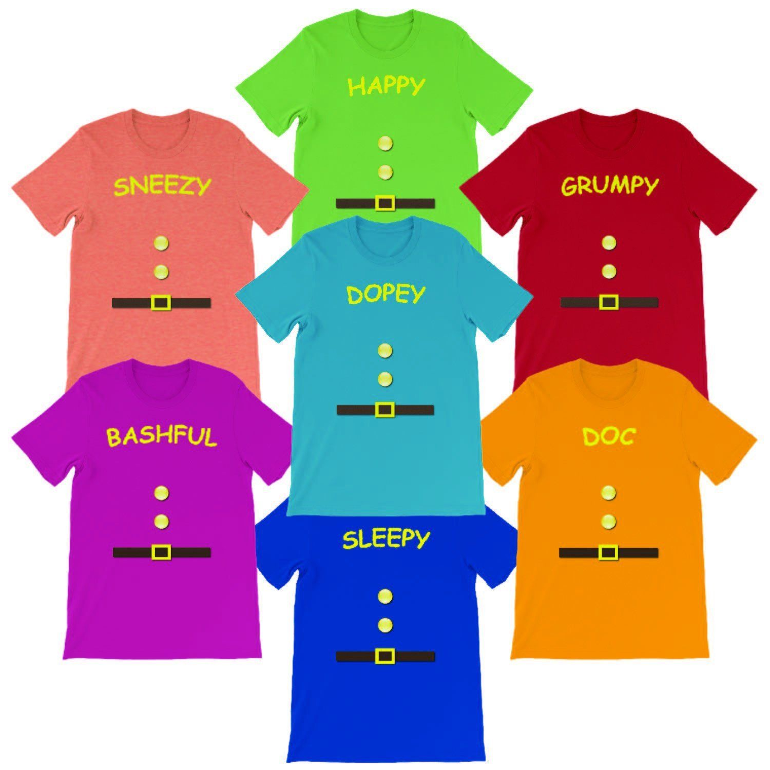 Adult tee shirts dopey