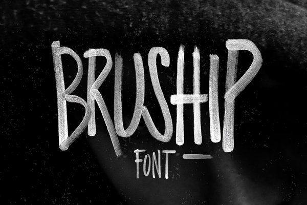 Download BRUSHIP Font & Typeface (With images) | Brush font ...