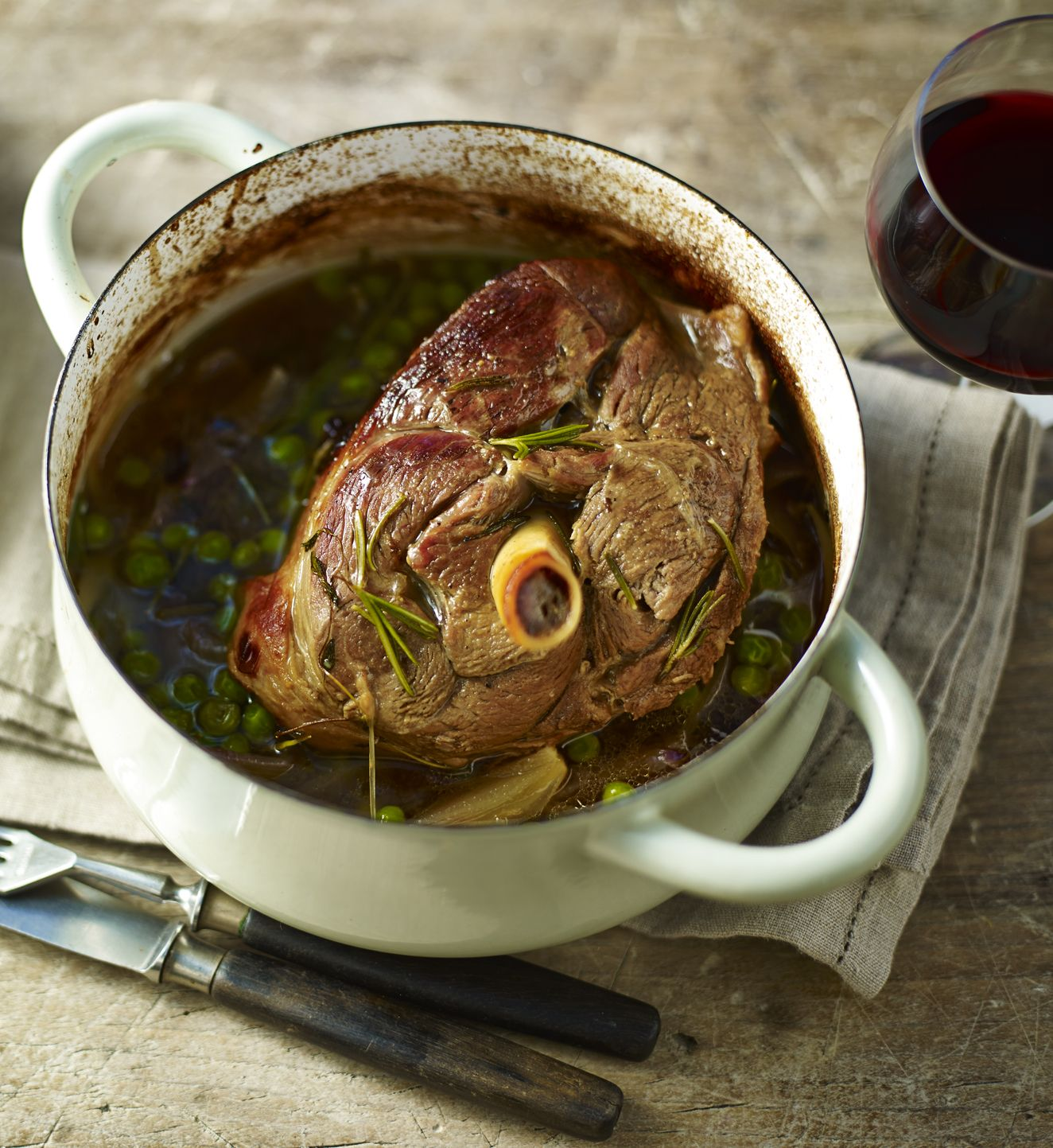 This is a slow cook but very fast prep dish - perfect for a lazy Sunday with the family.