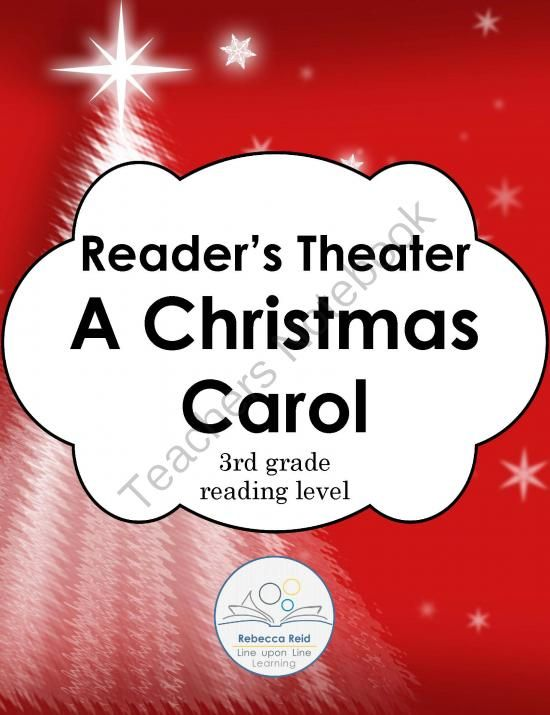 A Christmas Carol Readers Theater, Discussion Questions and Test ...