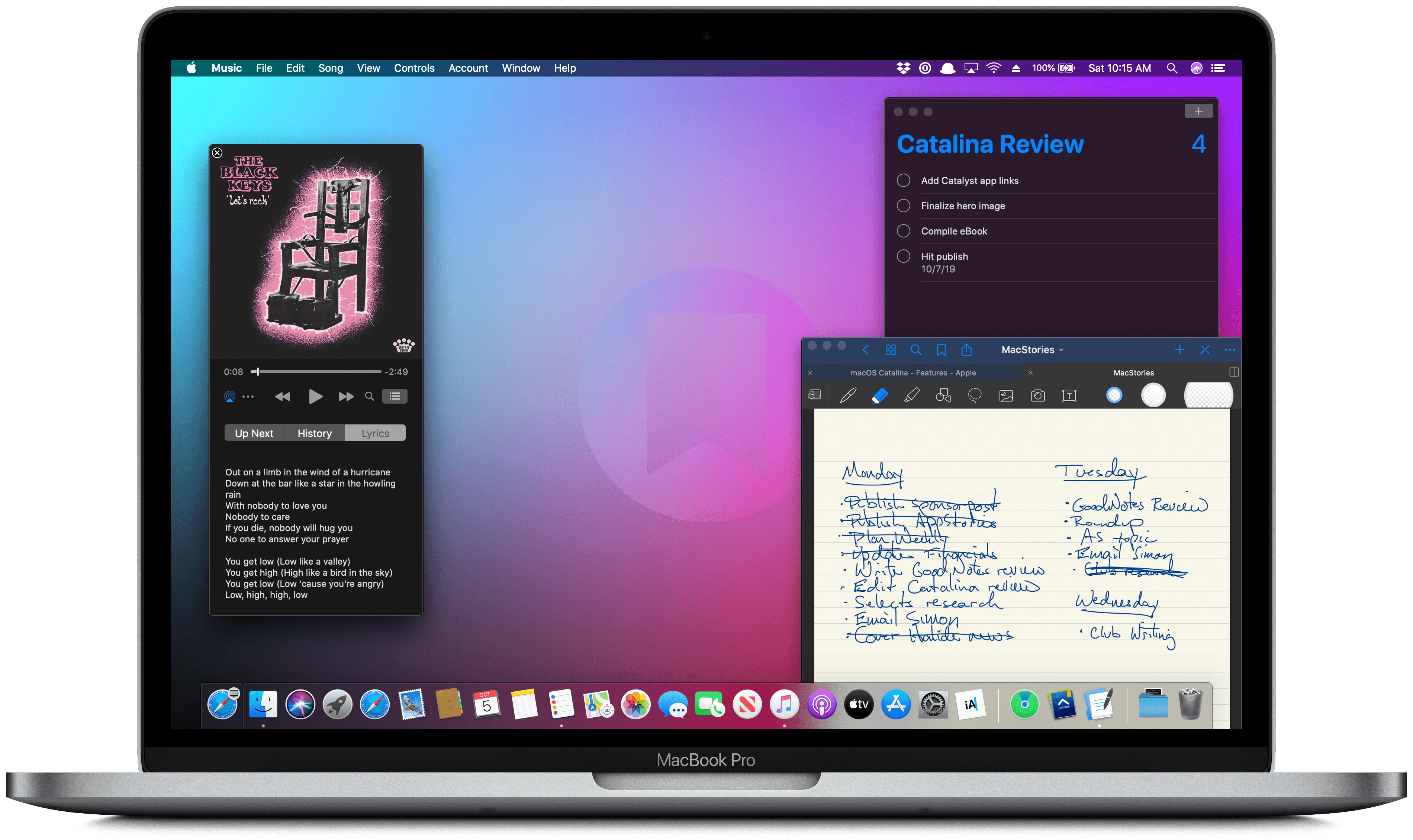 macOS Catalina The MacStories Review Settings app