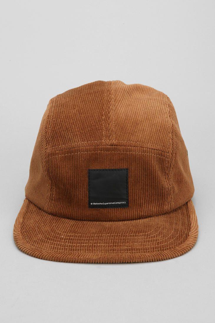 851f20ba84b3b WeSC Corduroy 5-Panel Hat - WATTABABE