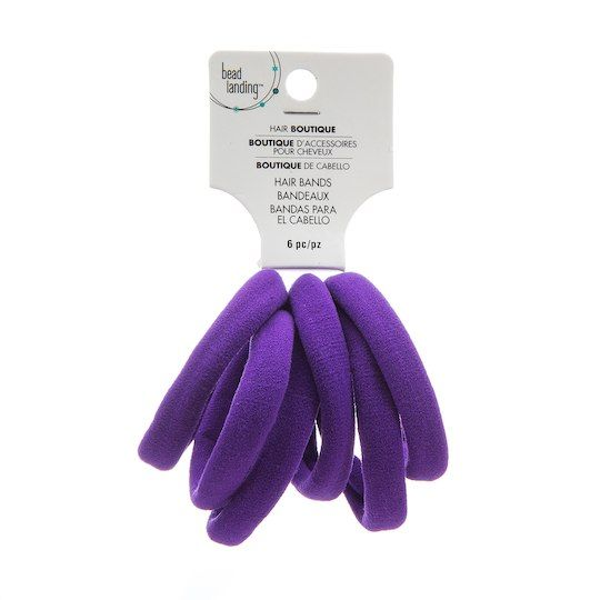 Get the Lycra Sporty Hair Ties By Bead Landing™ at Michaels.com. Tie your  hair up in a fuss-free ponytail and show the world you mean business! 49f64a38a69
