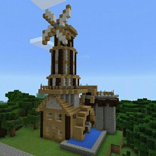 Torrre Medieval De Minecraft Construcciones Mojang Games Minecraftpe