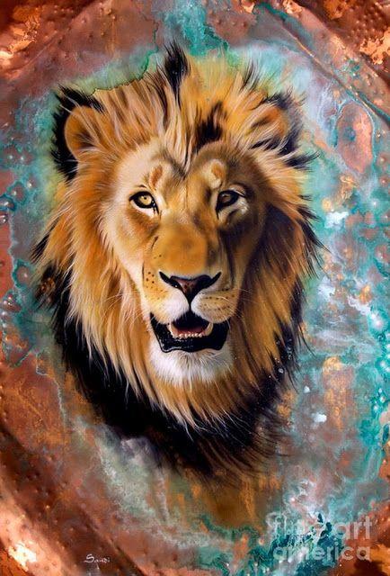 El Leon No Por Nada Es El Rey De La Selva Dibujos De Leones