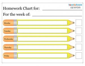 Printable Homework Charts is part of Homework chart, Homework template, Homework planner, Homework, Planner template, Chart - Free printable homework charts help kids at any grade level in a public, private, or homeschool setting get organized and stay on task  Kids with any