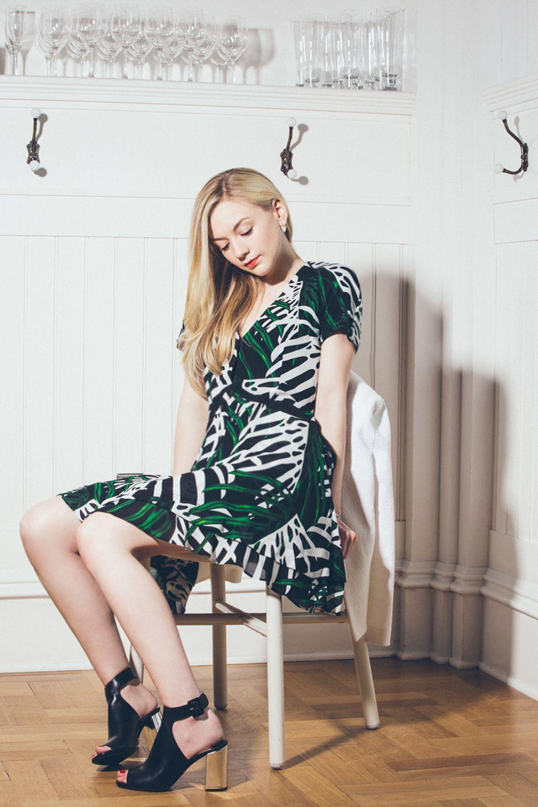 Wallpaper Face Model Collage Lauren Cohan Fashion Ultrawide