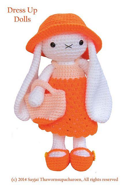 Dress-Up Bears | Amigurumi crochet pattern by Airali design | 640x437