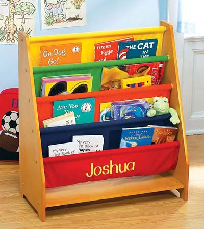 A Personalized Book Rack To Encourage Young Readers