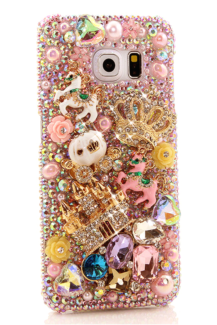 Only In A Fairytale Design Style 827 Luxaddiction Com Bling Phone Cases Samsung Galaxy S6 Edge Cases Samsung Phone Cases