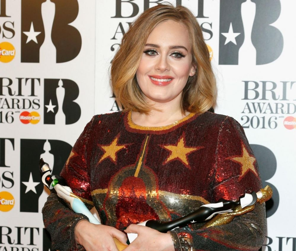 Adele Brit Awards 2016 Adele Cantores Adele Adkins