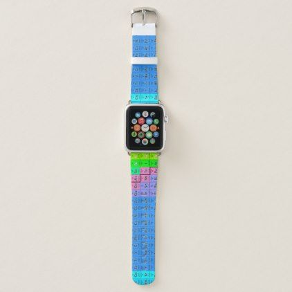 Periodic table chemistry apple watch band periodic table watch teacher periodic table chemistry apple watch band urtaz Image collections