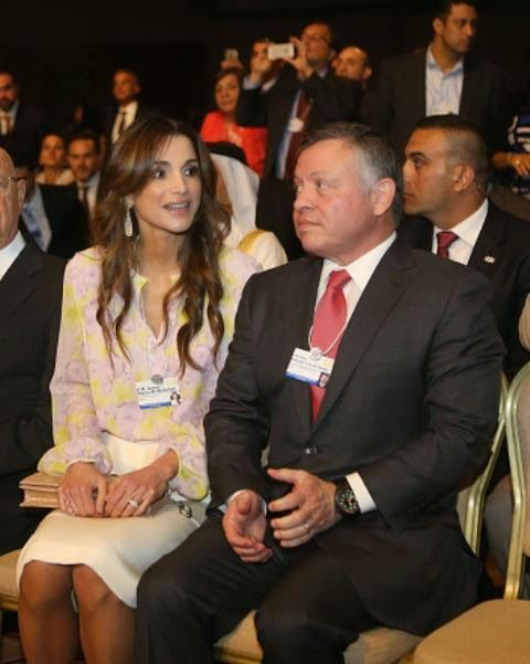 Royal Family Around The World World Economic Forum On The Middle East And North Africa On May 22 2015 In The Dea Queen Rania Jordan Royal Family Royal Family