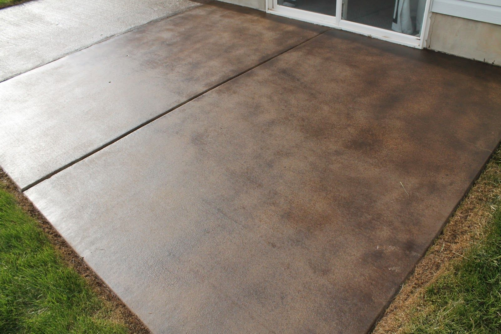 Sealed Concrete Walkway With Stamp And Color Embellishment. | NanoPave Concrete  Sealer | Pinterest