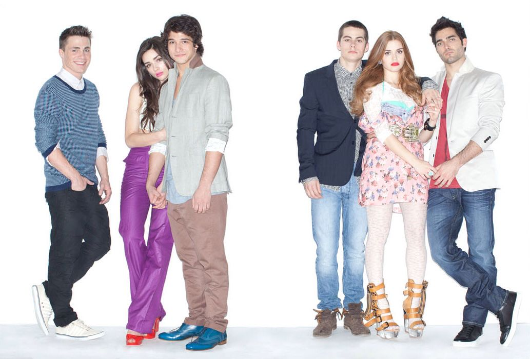 TLH + Colton Haynes, Crystal Reed, Tyler Posey, Dylan O'Brien + Holland Roden