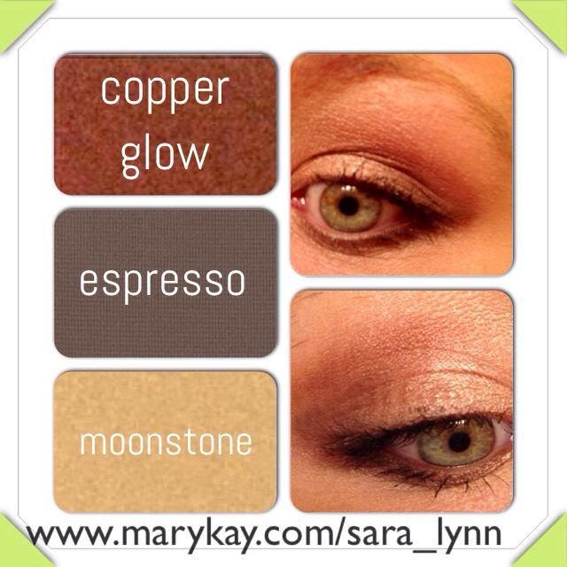 Mary Kay smoky eye for green eyes