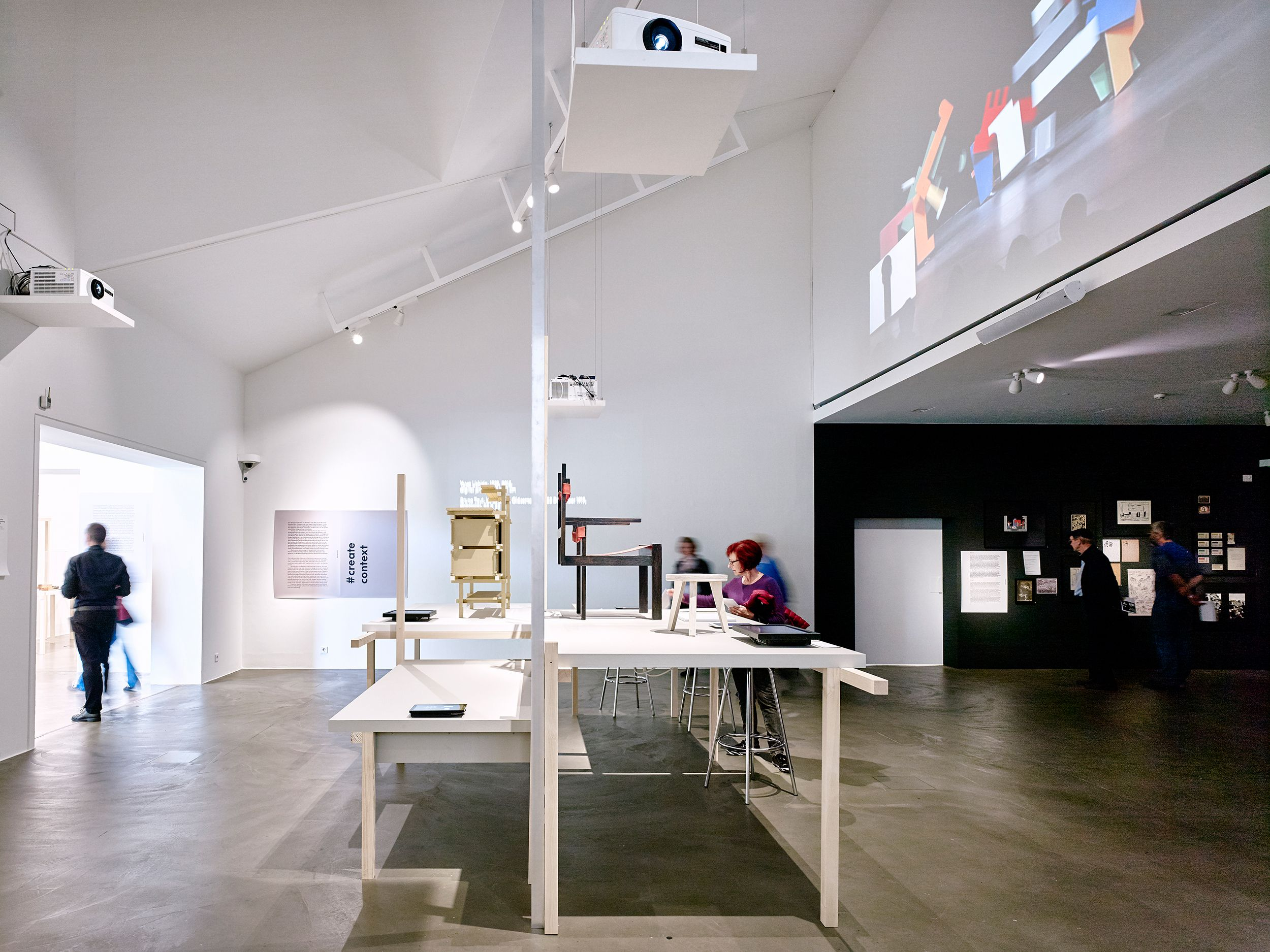 the bauhaus itsalldesign exhibition at the vitra design. Black Bedroom Furniture Sets. Home Design Ideas
