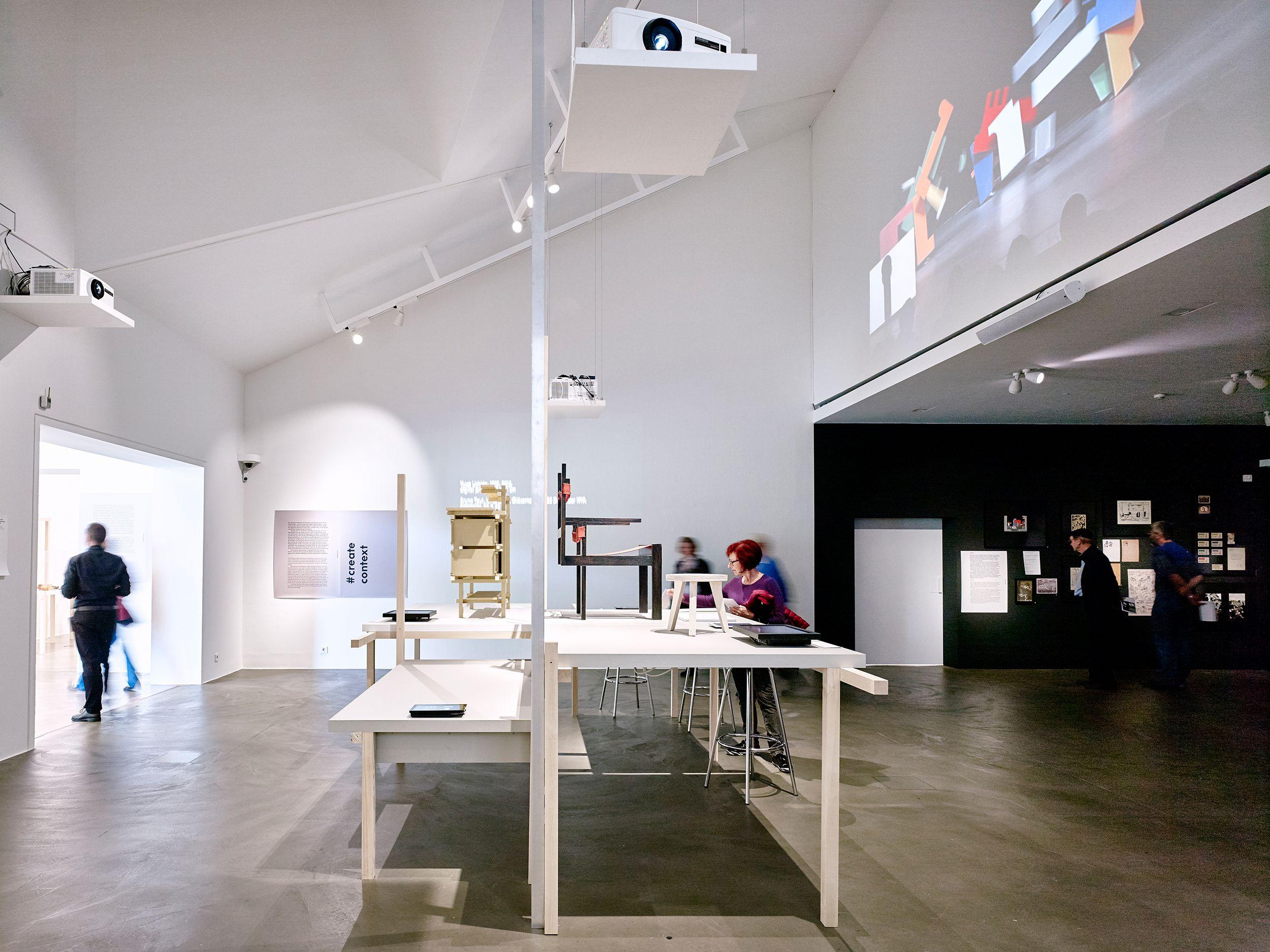 The Bauhaus itsalldesign exhibition at the Vitra Design