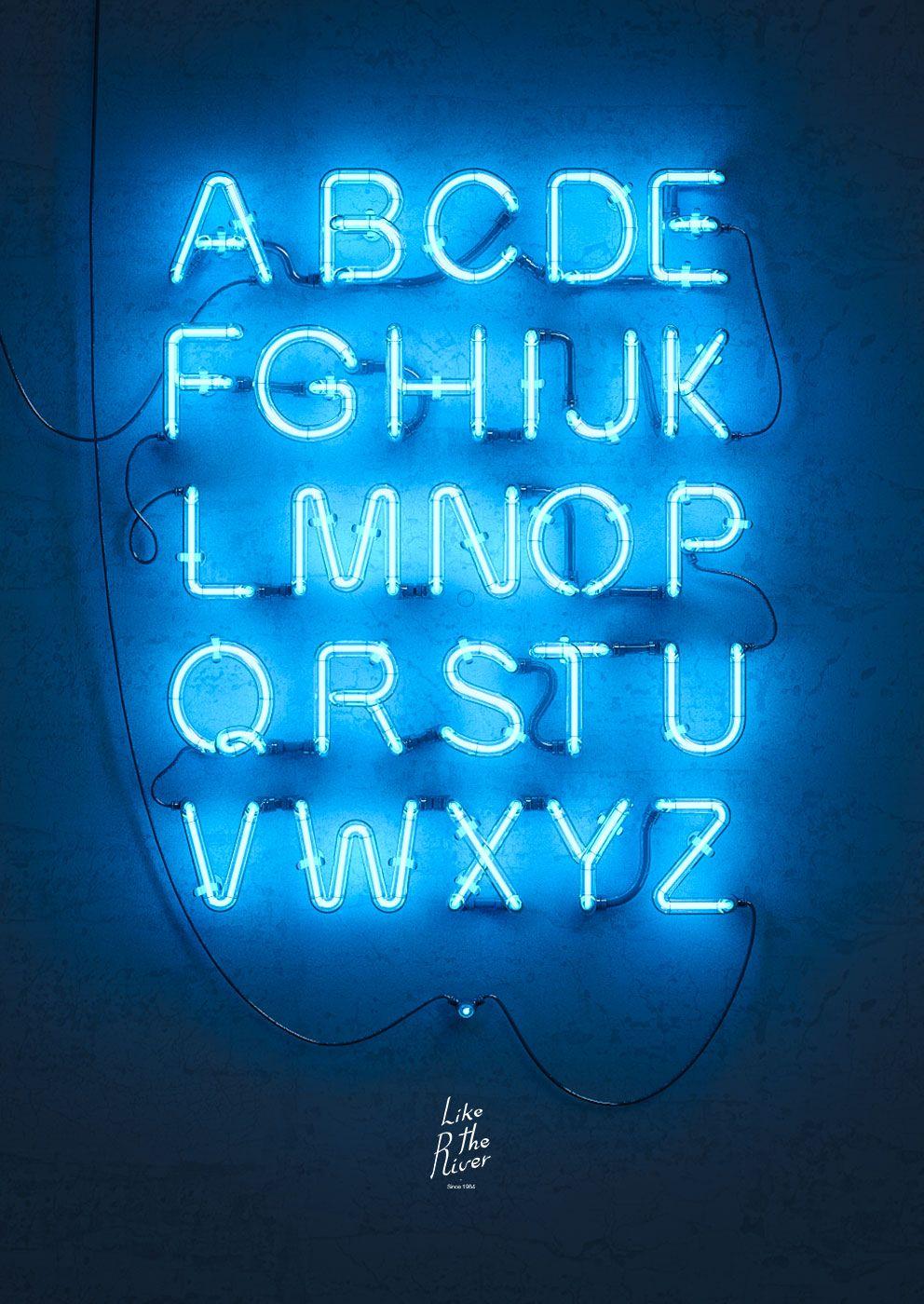 neon font Buscar con Google
