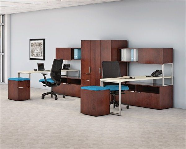 Voi Desking Now Comes In Veneer Learn More At Our Office Furniture Solutions Including Chairs De Office Furniture Solutions Unique Office Furniture Furniture