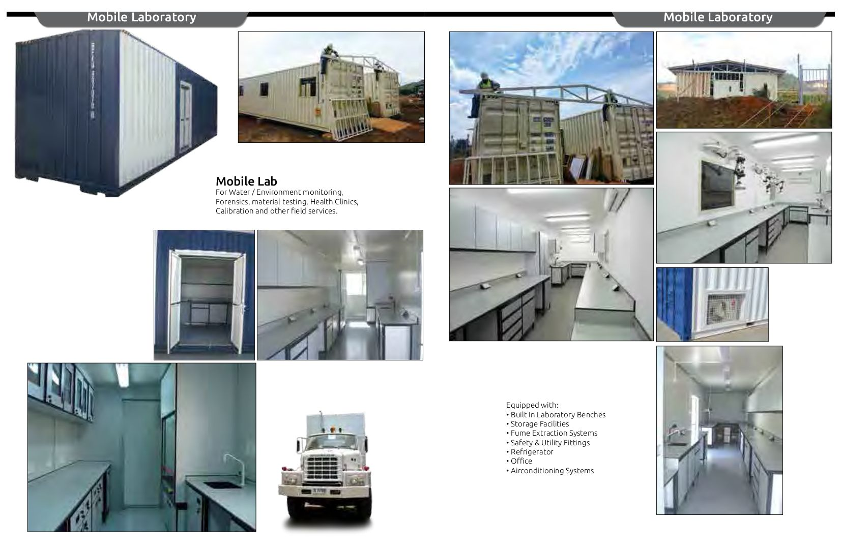 Specialized In Designing And Commissioning Of Laboratories In Various Disciplines We Also Deal With Prefabr Design Container Buildings Furniture Manufacturers