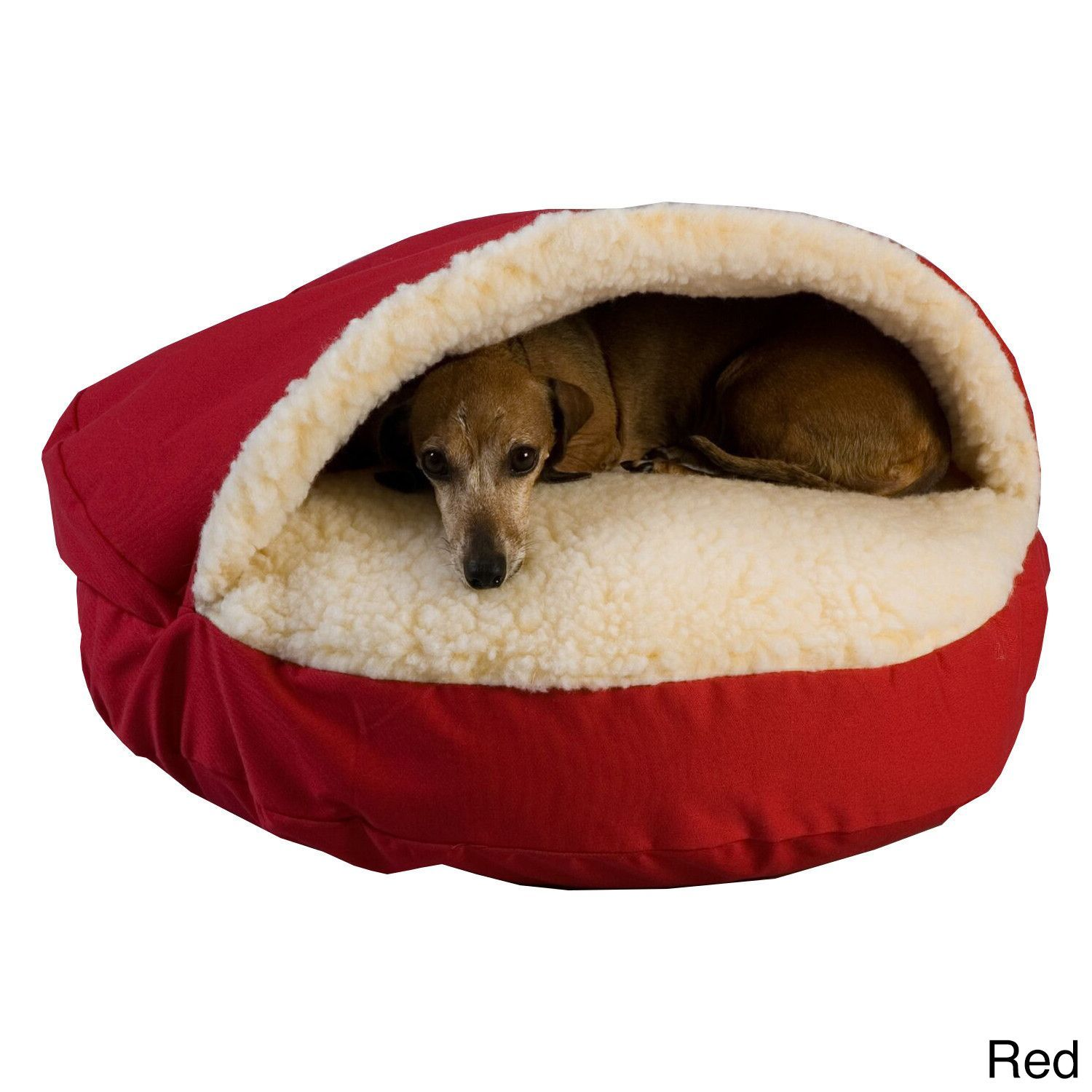 Snoozer Cozy Cave Luxury Microsuede Pet Bed Cozy cave