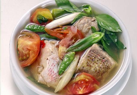 Sop Ikan Kakap Sup Ikan Resep Masakan Resep Sup