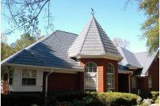 Metal Slate Roof on Brick Home   Lasher Contracting www.lashercontracting.com   Voorhees, NJ   Roofing & Contracting