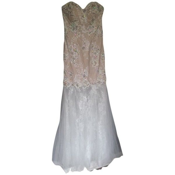 Gigi Hill Pre-owned Gigi Hill Prom/wedding Dress ($190) ❤ liked on ...