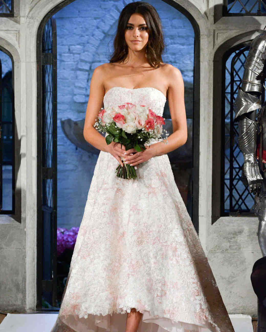 Oleg cassini spring wedding dress collection martha stewart