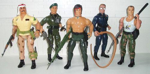 "Gi joe Stallone cobra 4/"" vintage style movie police cop"