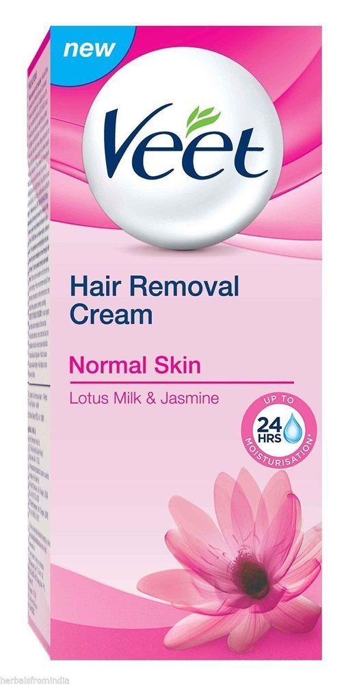 Veet Hair Removing Cream Normal Skin 60g Underarms Bikini Line