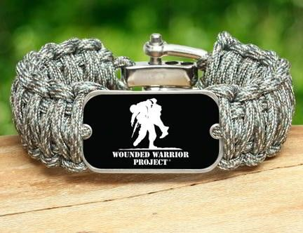 Survival Straps Wounded Warrior Project Bracelets Awesome Gear Pinterest And