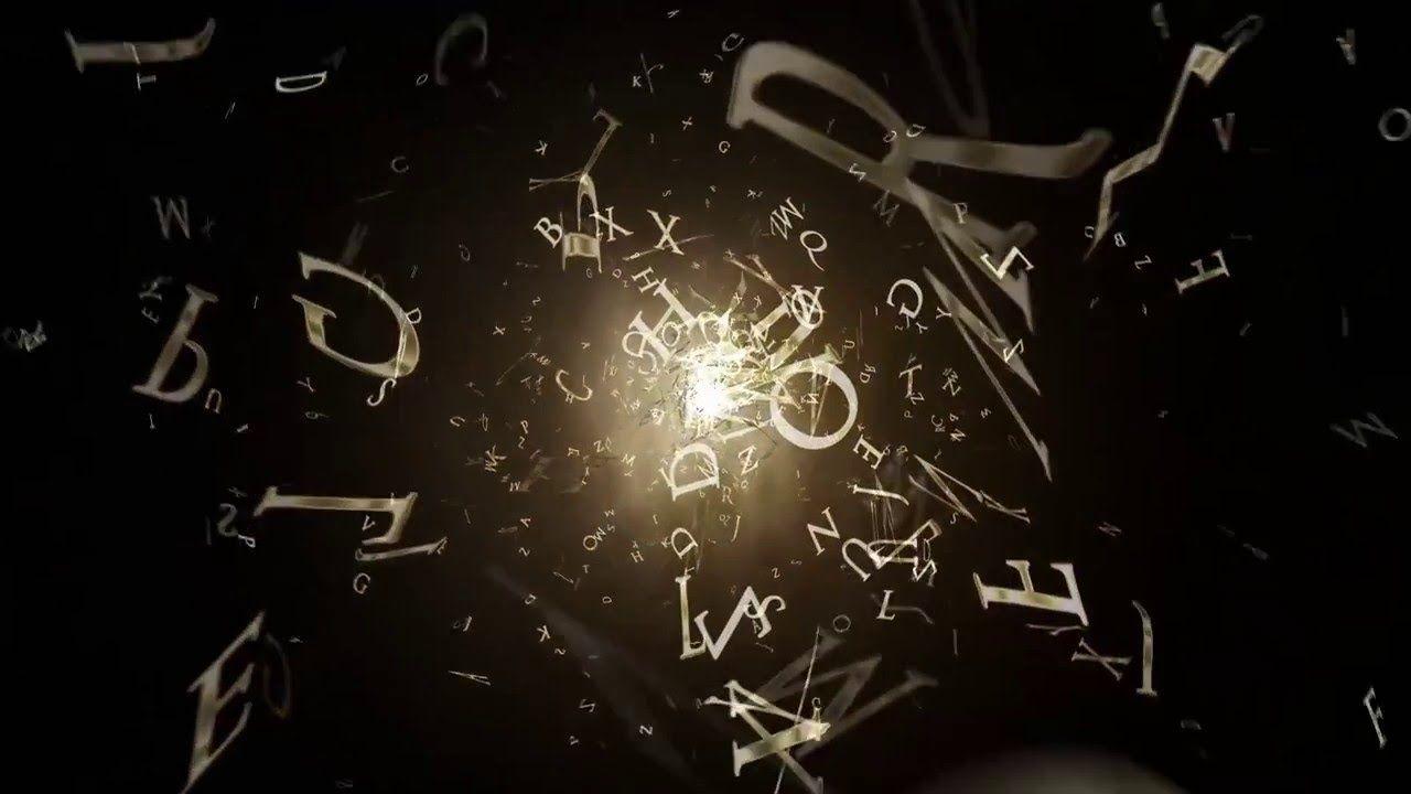 Vinheta de introdução, efeito letras - Anderson Imagem