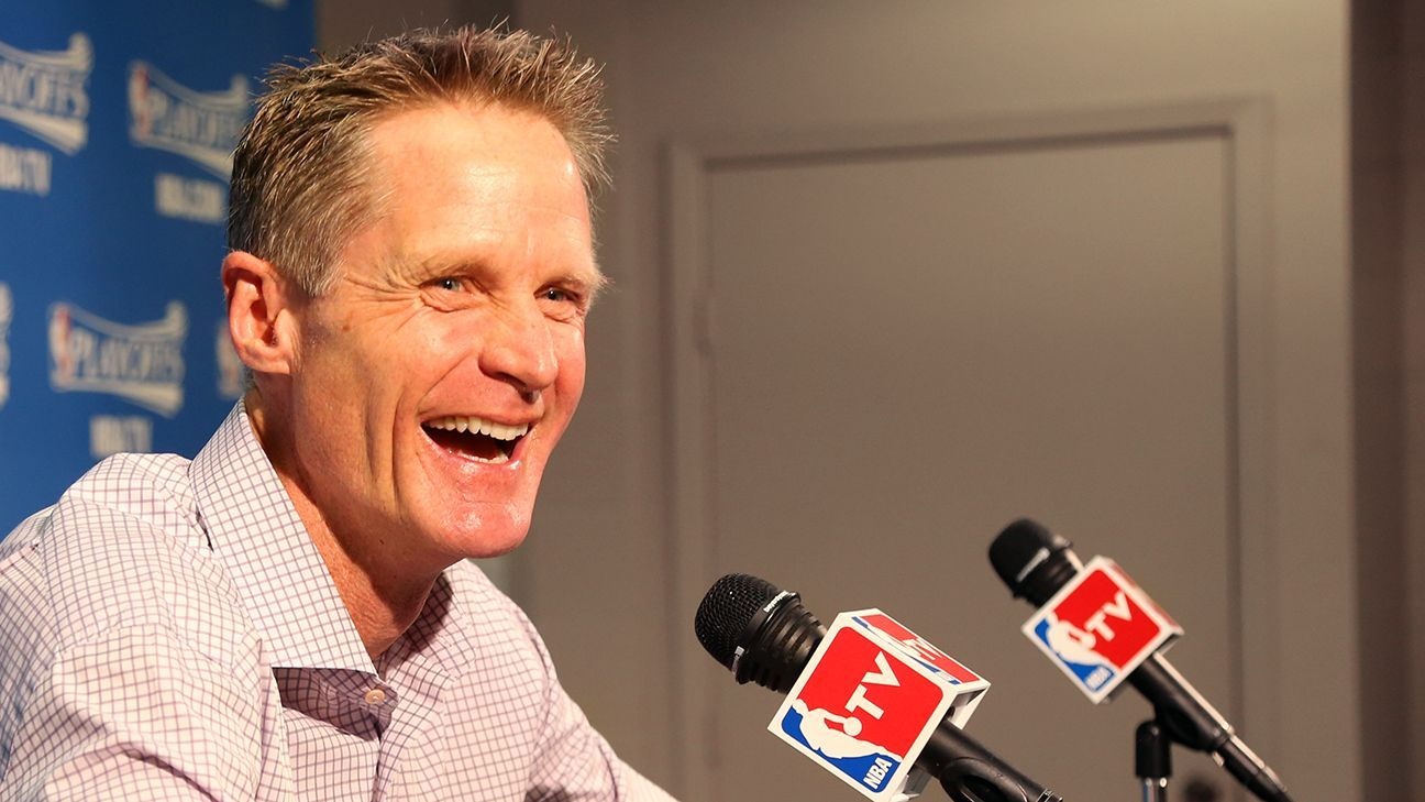 Steve Kerr Q&A 'These things don't last forever' (With