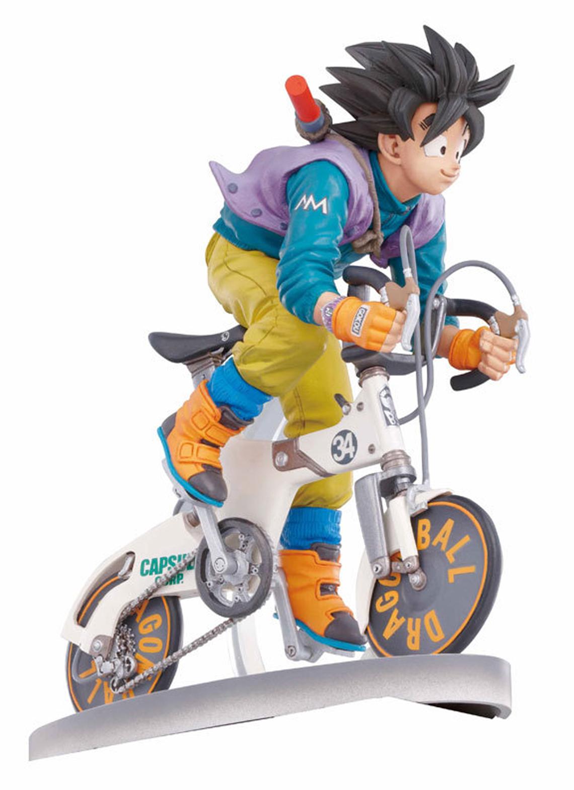 Goku Bike Edição Especial Limitada Figuras De Goku Personajes De Dragon Ball Figuras De Anime
