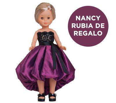 Consigue los vestidos de los grandes diseñadores de la moda española para Nancy. ¡Revive la historia de Nancy!