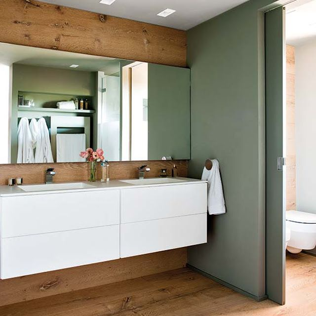 Living in DesignLand PAREDES DE MADERA Banhos Pinterest - paredes de madera
