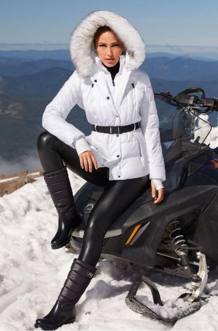 Michael Kors Belted White Puffer Jacket Today S Fashion Item White Puffer Jacket Michael Kors Jackets Michael Kors Clothes [ 1120 x 740 Pixel ]