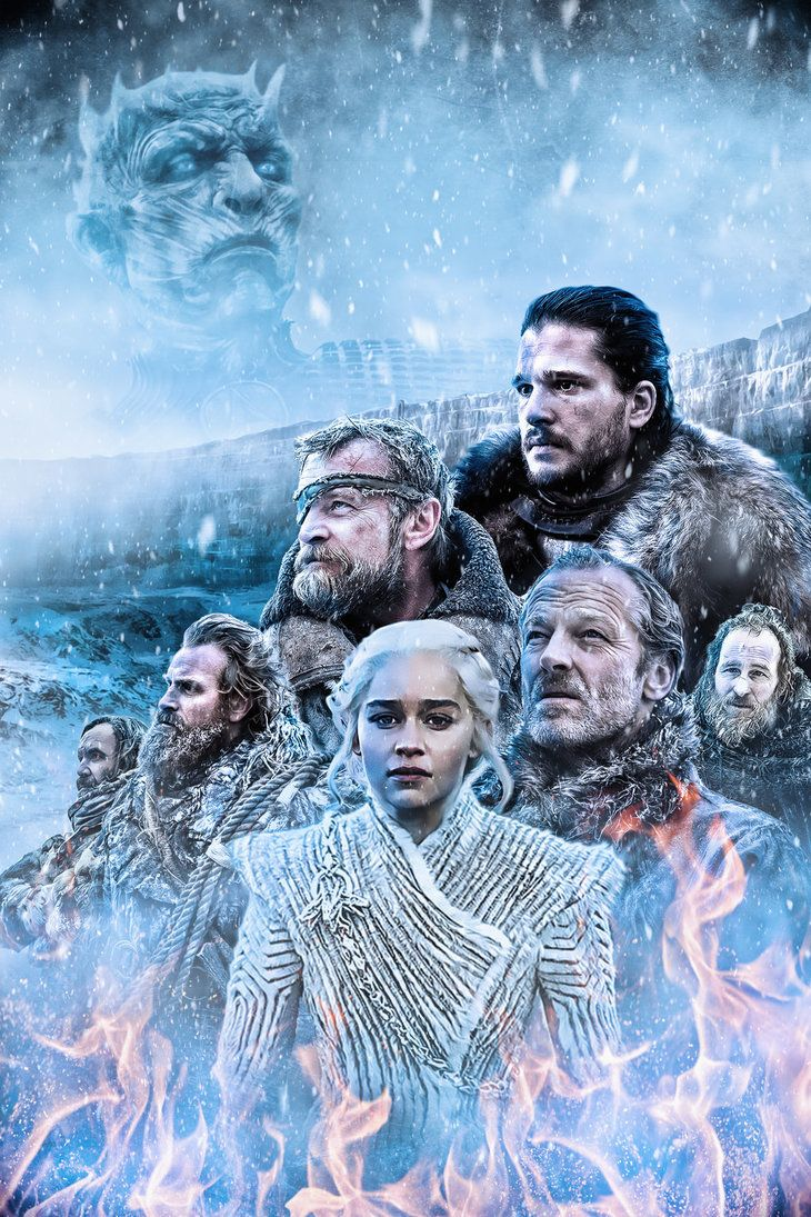 Game of Thrones Wallpaper Fire and Ice by mattze87