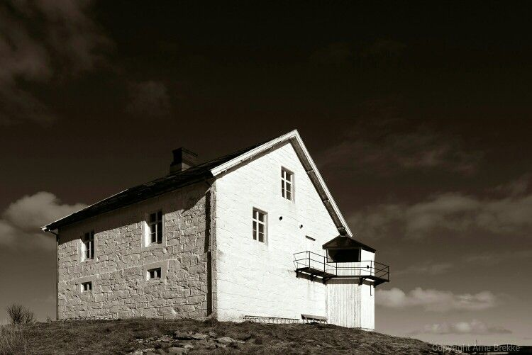 Nyholmen Lighthouse, Bodø Norway Built 1875 Discontinued 1907
