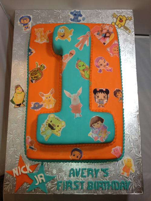 Wondrous Nick Jr Cake With Images Nick Jr Birthday Kids Cake Cake Funny Birthday Cards Online Alyptdamsfinfo