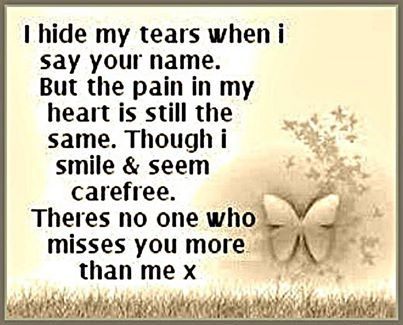 no one misses you more than me love quotes quote miss you sad death family quotes in memory