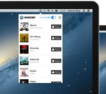 Shazam is always listening to you on Mac but not for