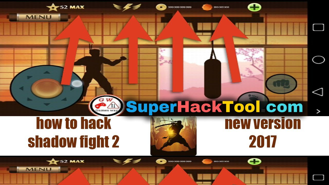 shadow fight 2 mod apk max level