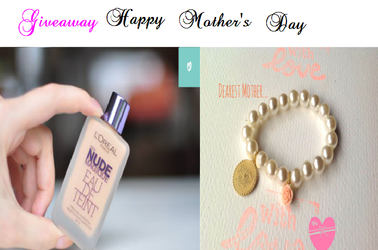 Giveaway Happy Mother's Day