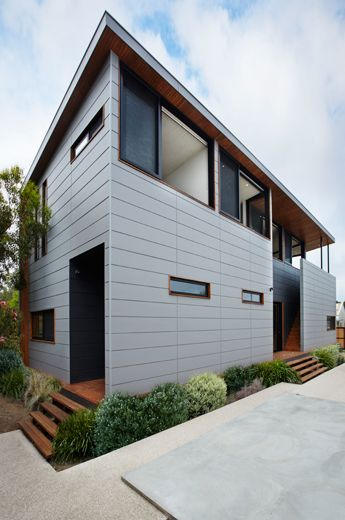 Barwon Heads House Exterior House Cladding Exterior House Colors